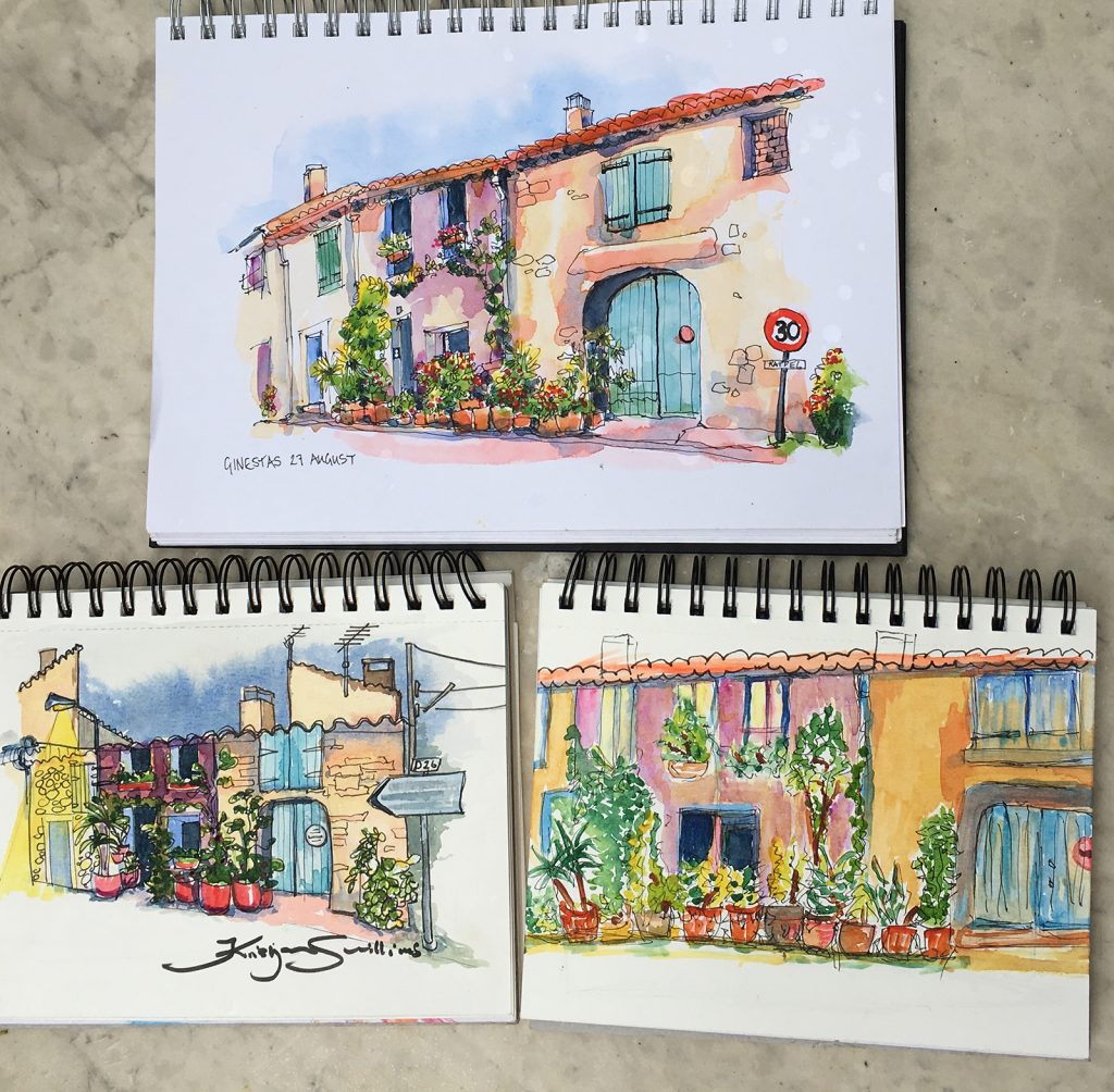   This 3-hour workshop is for beginners as well as more experienced sketchers. Materials provided if you do not have your own - we'll have plenty of fun with ink and colour and you'll see this pretty town in ways you may not have done before!