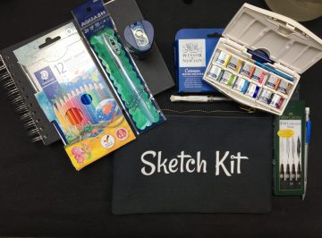 sketch kit for beginners