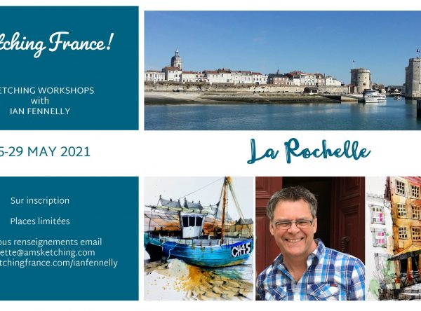 Workshops in La Rochelle France with Ian Fennelly May 2021