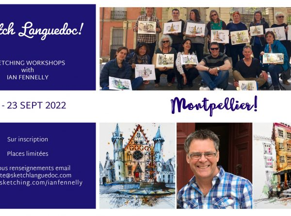 Workshops in France with Ian Fennelly September 2022