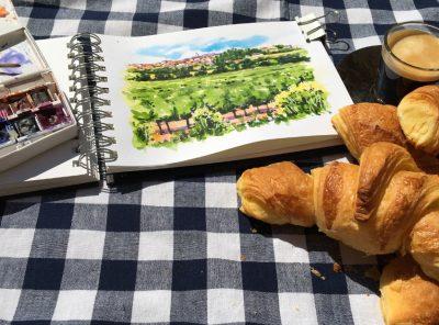 French Village Sketchbook - Online Edition