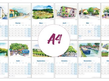 a4calendarpages